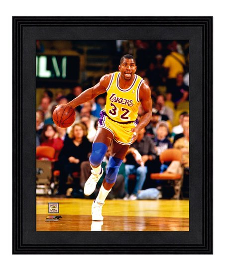 f2257dcb7 Photo File Los Angeles Lakers Magic Johnson Framed Photo