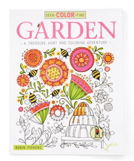 - Fox Chapel Publishing Seek, Color & Find Garden Coloring Book Best Price  And Reviews Zulily