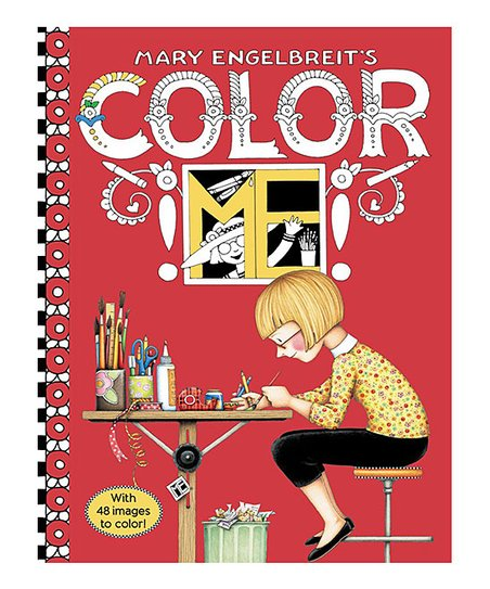 HarperCollins Mary Engelbreits Color ME Coloring Book | Zulily