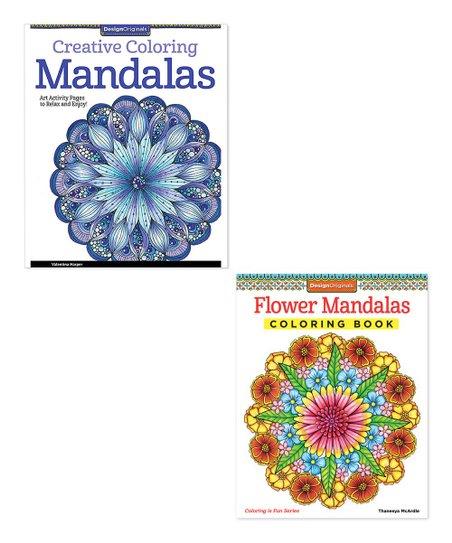 Fox Chapel Publishing Flower Mandalas & Creative Coloring ...