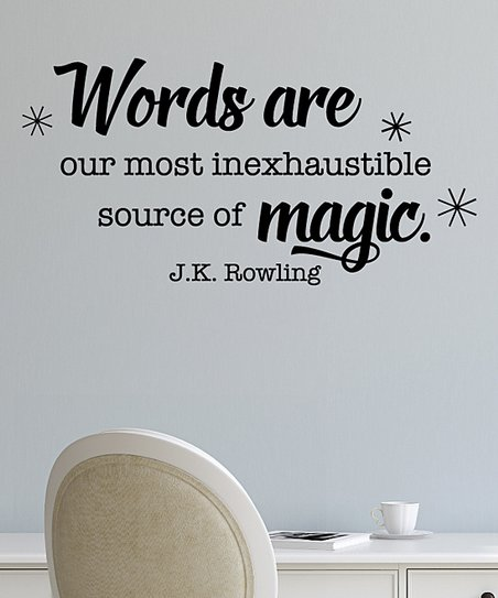 Wall Quotes By Belvedere Designs Words Are Magic Wall Quotes Decal