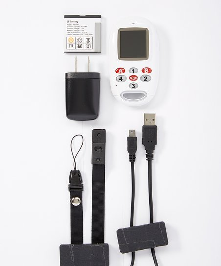 KidsConnect White GPS Tracker Cell Phone & Service Bundle