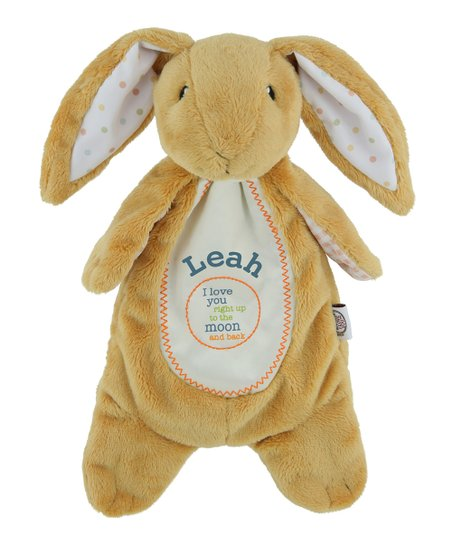 Tvs Toy Box Moon Back Personalized Bunny Plush Toy Zulily