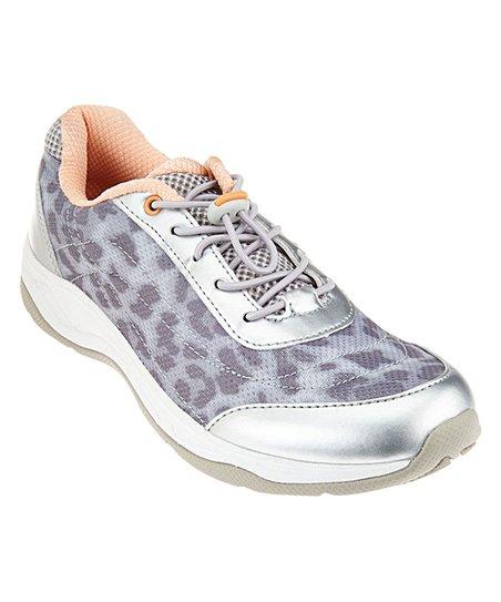 7f7501b5f03c love this product Silver Leopard-Print Neptune Walking Shoe - Women