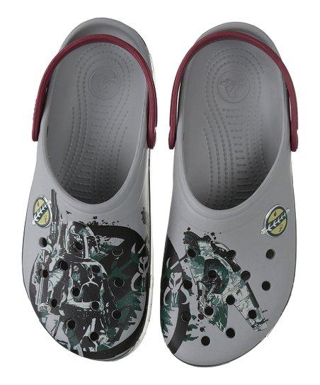 220a3a3007 Crocs Light Gray Star Wars Boba Fett Clog - Men