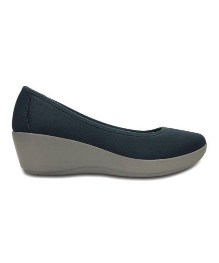 9b88f545006df love this product Navy Smoke Duet Busy Day Stretch Ballet Wedge