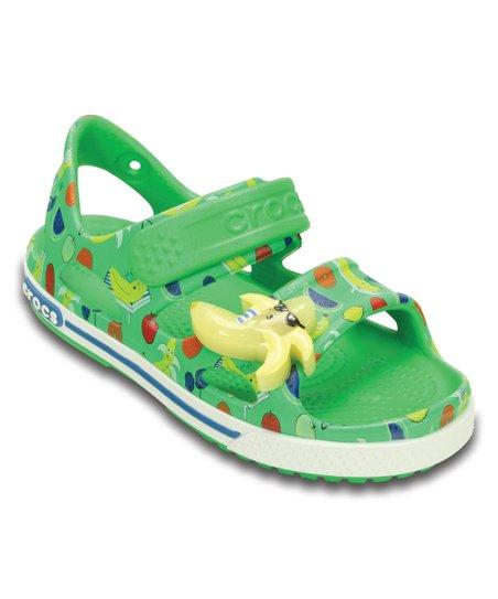 5704a08c4 love this product Grass Green Crocband™ II Banana Light-Up Sandal - Toddler    Kids