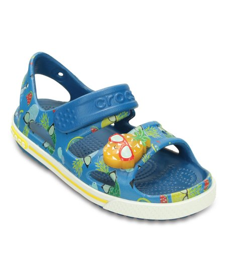 05c68cfe0 love this product Ultramarine Crocband™ II Light-Up Sandal - Kids