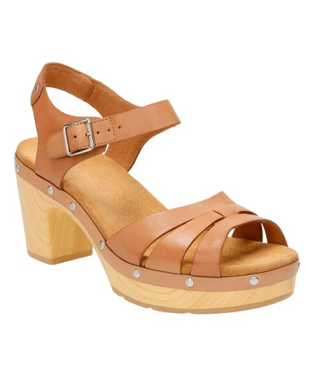 02f782edf854a3 Clarks Beige Ledella Trail Leather Sandal