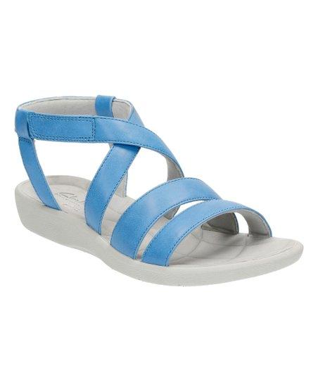 b8b6a36913b7 Clarks Blue Sillian Spade Sandal