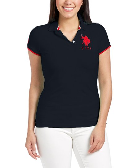 Anthracite, High Risk Red & Marshmallow Big Pony Polo