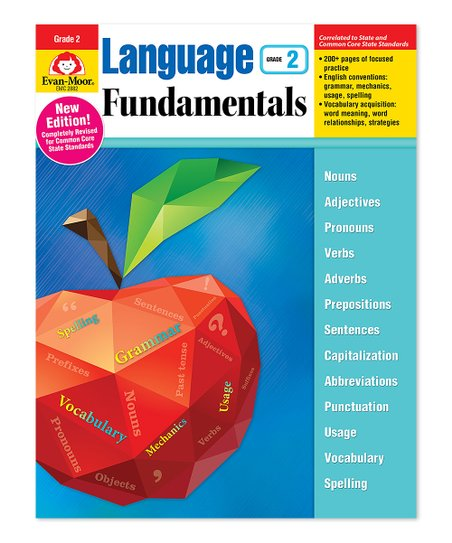Evan-Moor Educational Publishers Language Fundamentals - Grade 2