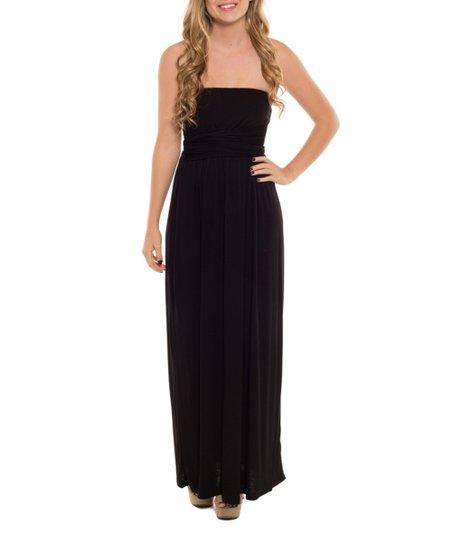 Black Tie Strapless Dresses