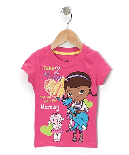 bc4d10bd2030 Childrens Apparel Network Pink Take 2 Hugs Doc McStuffins Tee ...