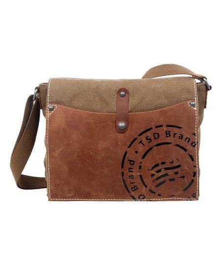 Brown Super Horse Messenger Bag