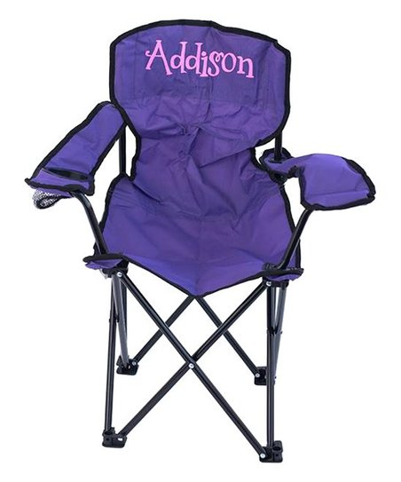 Love This Product Purple U0026 Neon Pink Personalized Folding Chair   Adult
