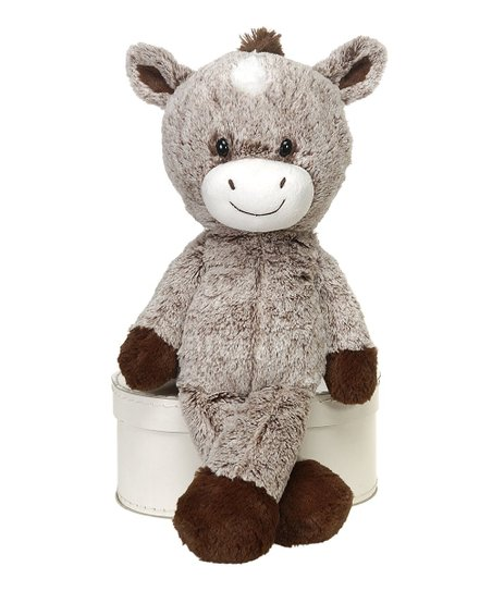 Nelly Packs Brown   Tan Horse Cold Hot Nelly Cuddles Plush  b46dd5dcef