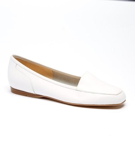 7394afac104 love this product White Leather Liberty Loafer