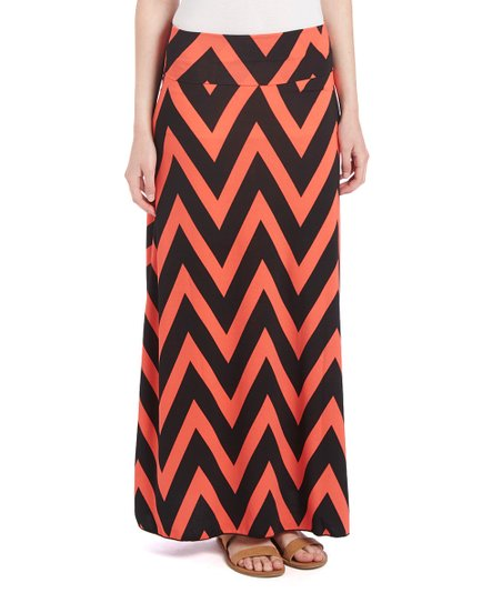 Look - Maxi chevron skirts cheap video