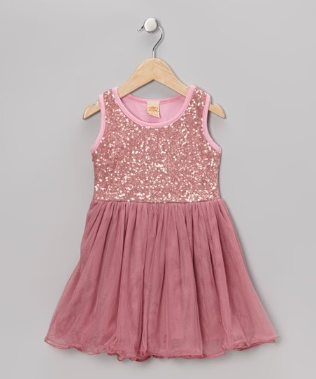 02fd7f17192 Mia Belle Baby Hot Pink Sequin Tutu Dress - Toddler