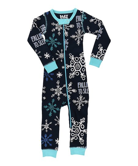 love this product Blue  falling to Sleep  Snowflake Pajamas - Infant 06238fdc9