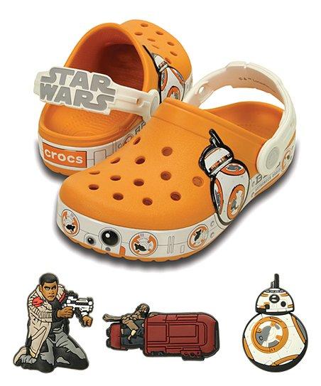 5858d872dd5 love this product Star Wars Orange BB-8 Crocband Clog & Jibbitz™ Shoe Charms