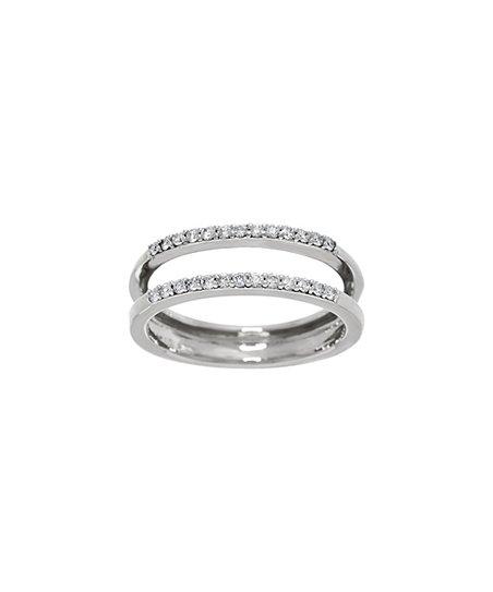 9863453a587 Affinity Diamond Jewelry Diamond   White Gold Ring Guard
