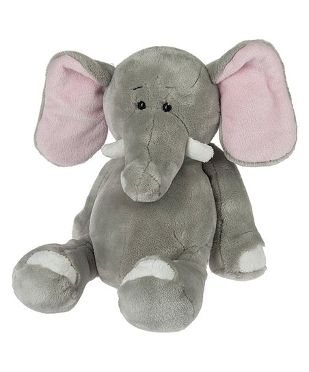 Ganz Gray Tubby Tummy Elephant Plush Toy Zulily