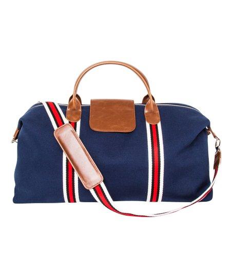Navy & Red Original Duffel Bag