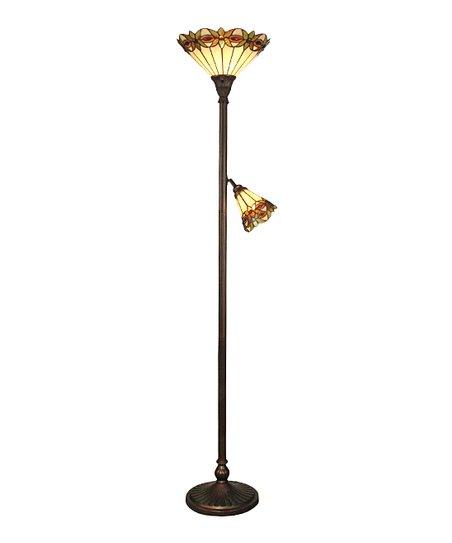 Dale Tiffany Starflower Torchiere Floor Lamp Zulily