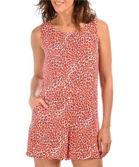 65e15f36989 love this product Red   White Floral Romper