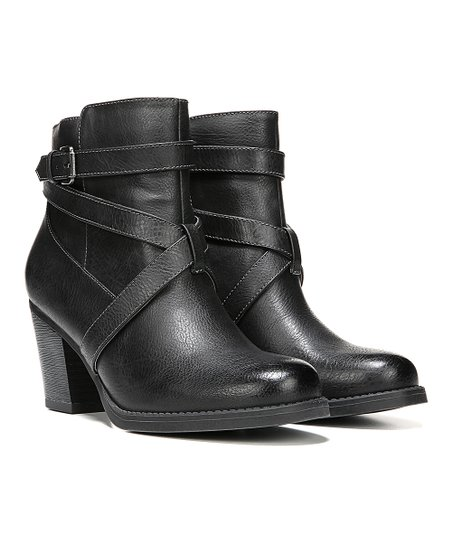 Naturalizer Black Yvelle Ankle Boot