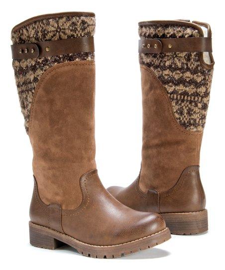 Muk Luks Chestnut Kelsey Boot - Women  340d1a8bc52f