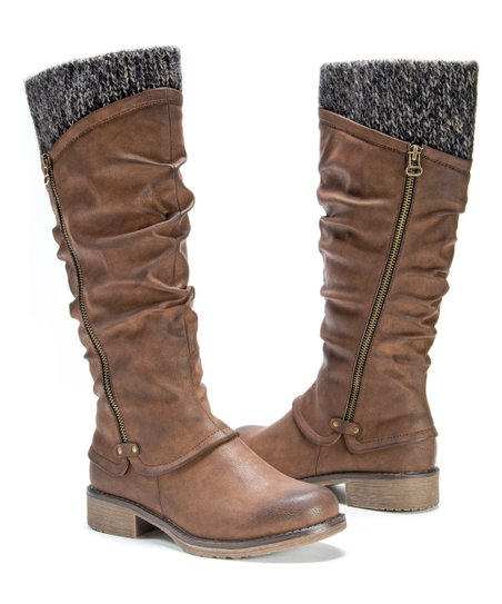 Muk Luks Brown Bianca Boot - Women  926c9ba7f