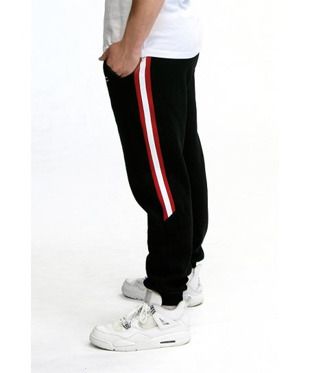 Black Twin Vision Activewear San Diego State Aztecs NCAA Mens Jogger Pant