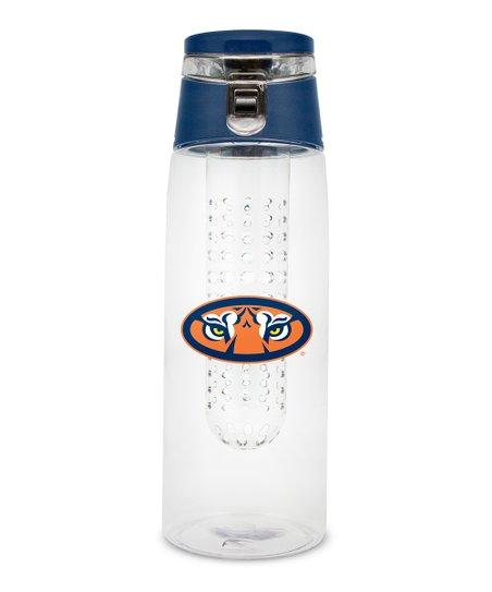Duck House Auburn Tigers 24-Oz  Infuser Water Bottle