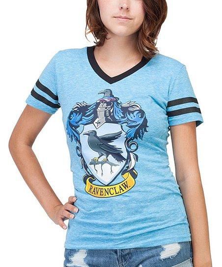866c588c Bioworld Harry Potter Ravenclaw V-Neck Tee - Juniors | Zulily