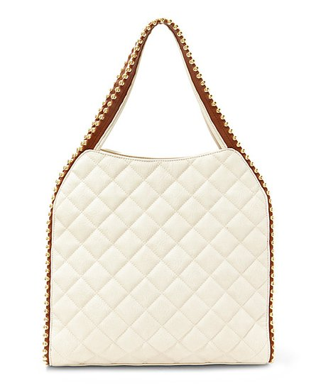 f62fe227ad love this product Stone Quilted Georgie Shoulder Bag