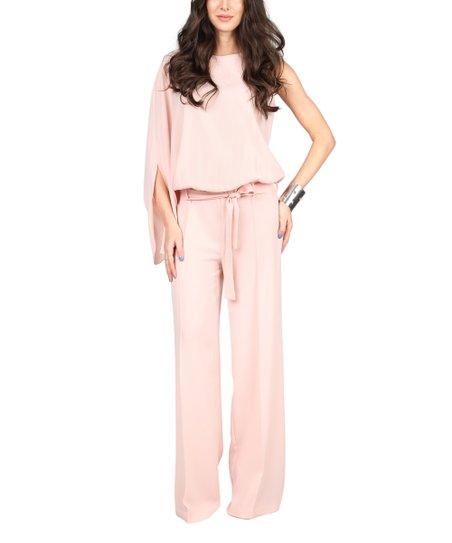 1f6d2dfdff4 Poesse Light Pink Blouson Jumpsuit - Women