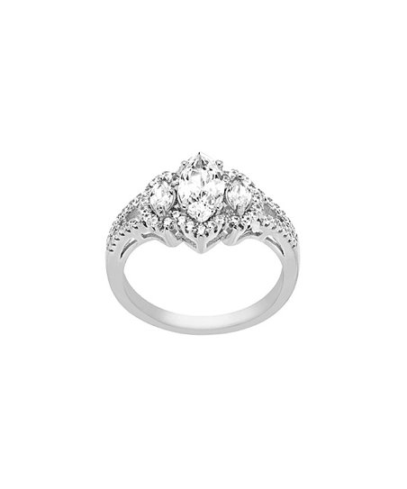 1babfaa0c love this product Swarovski® Crystal & Sterling Silver Marquise-Cut Ring