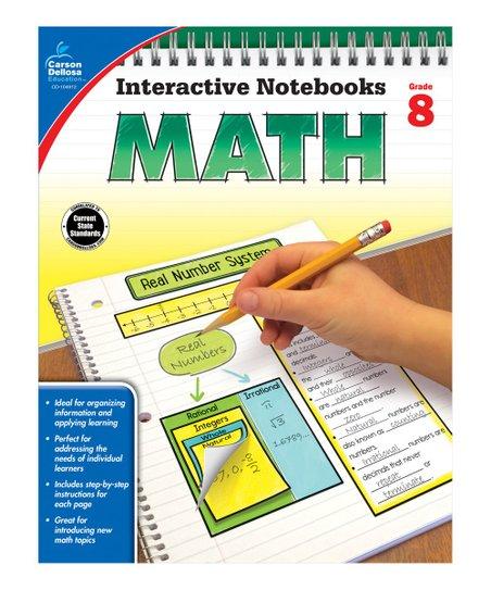 Carson Dellosa Grade 8 Math Workbook
