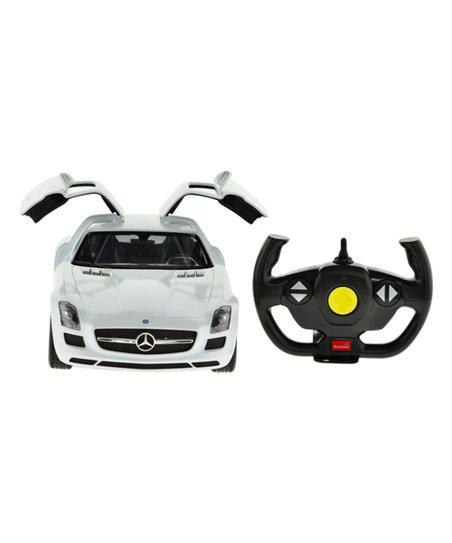 Mach 10 White Mercedes Benz Sls Amg Remote Control Car Zulily