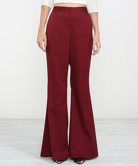 0ba3dc004512 Champagne   Strawberry Burgundy Trouser Pants