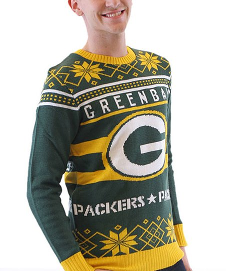 Costume Agent Green Bay Packers Ugly Christmas Sweater Adult Zulily