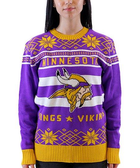 Costume Agent Minnesota Vikings Ugly Christmas Sweater Adult Zulily