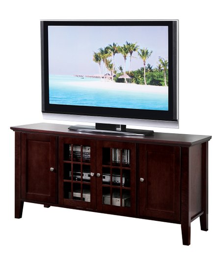 Pilaster Designs Plasma Tv Console Stand Entertainment Center Zulily