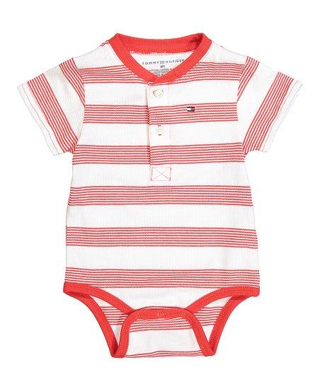 5c7944b5465e Tommy Hilfiger Flame Scarlet Wally Bodysuit - Infant