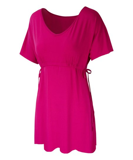 5ced85e4e1 love this product Hot Pink Empire-Waist Cover-Up - Women