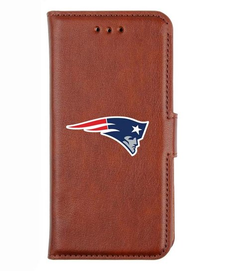 Wholesale GameWear New England Patriots NFL Leather Tech Wallet for iPhone 6  supplier