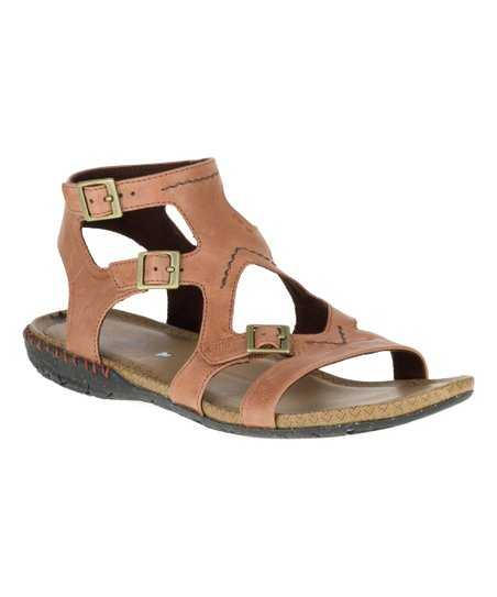 d3082bfc330 love this product Tan Whisper Buckle Leather Sandal